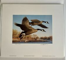 4 First of State Duck Stamp Prints - Colorado, Ohio, New Hampshire & Kentucky