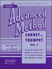 Rubank Advanced Method - Cornet or Trumpet, Vol. 1 (Rubank Educational Library,