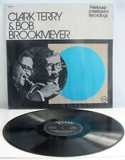 Clark Terry and Brookmeyer, LP, Previously Unreleased Recordings, Verve, *RARE*