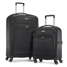 "Samsonite ultralite 2 bagages en noir large 27"" & cabine 18.5"" spinner"