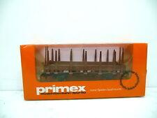 Primex 4595 Rungenwagen 2 Achsig braun mit Originalkarton