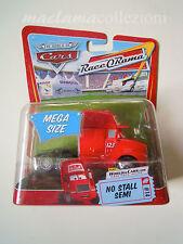 Disney cars mega size NO STALL SEMI 2015 cabina camion raro introvabile mattel