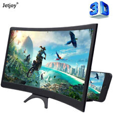 """12"""" 3D Mobile Phone Video Curved Screen Amplifier Magnifier Stand Bracket Holder"""