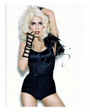 LADY GAGA SIGNED AUTOGRAPHED A4 PP PHOTO POSTER 1