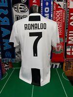 Maglia Calcio Juventus 2018/19 Cristiano Ronaldo Shirt Trikot Camiseta Maillot
