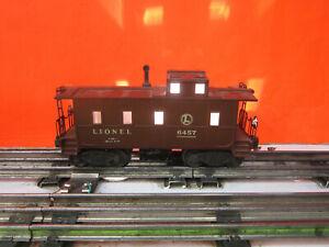 Lionel 6457 Caboose  O  GAUGE TRAINS