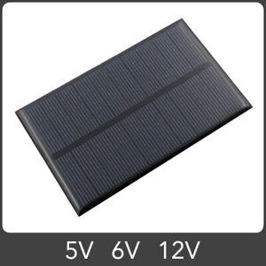 Solar Panel 5V 6V 12V Polycrystalline Silicon DIY Module Battery Charge