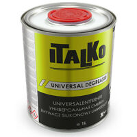 ANTISILICONE Sgrassante UNIVERSALE Elimina Impurità Grassi OLI ecc 1LT