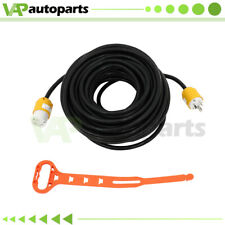 Rvgenerator Power Cord 30 Amp Extension Cord L6 30p To L6 30r Locking 100ft