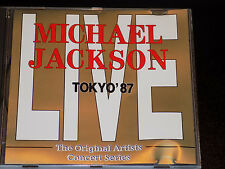 Michael Jackson – Tokyo '87 Bad Tour Live in Japan Very Rare Import CD