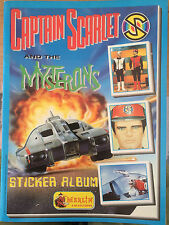 Captain Scarlet RARE MERLIN STICKER ALBUM BOOK Gerry Anderson