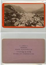 Baldi et Würthle, Allemagne Berchtesgaden CDV vintage albumen carte de visite,