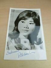 More details for pit-sen lim  vintage signed photograph   mind your language  johnny english