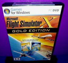 Microsoft Flight Simulator X: Gold Edition (PC CD ROM: Windows, 2008) B573