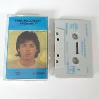 PAUL McCARTNEY II CASSETTE TAPE THE BEATLES EMI PARLOPHONE HOLLAND 1980