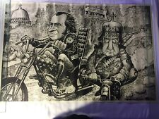 Nixon Agnew Poster 1970 Captain America Easy Rider Vietnam War Protest 23x35