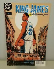 King James #1 DC Comic Lebron James 2004 Jock Variant Powerade Sponsored