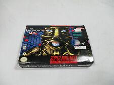 THE LAWNMOWER MAN Super Nintendo SNES Authentic Box NO GAME CART!