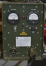 MILITARY RUGGED PORTABLE BENCH POWER SUPPLY 24 28 18-30 VOLT DC 60A RADIO GEAR
