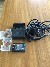 Genuine Original NIKON MH-23 Quick Charger With Power Cable And Battery