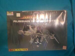 REVELL-MONOGRAM,1:144, ARMAGEDDON RUSSIAN SPACE CENTER PLASTIC MODEL KIT