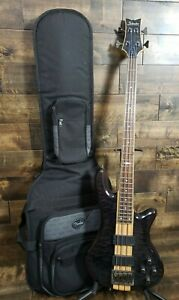 Schecter Diamond Series Elite-4 Right Handed Electric Bass Guitar Pre-owned