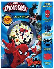 Ultimate Spiderman Busy Pack Kinder Aktivität Aufkleber strumpf-füller-geschenk