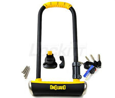 Onguard Pitbull 8002 LS 14mm U-Lock with bicycle frame bracket