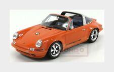 PORSCHE 911 S 2,7 TARGA 1974 VERDE 1:18 resin GT-SPIRIT gt780 NUOVO /& OVP