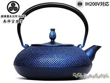Japanese Iron TEA KETTLE Teapot Tetsubin,Nanbuhoshodo made from Japan