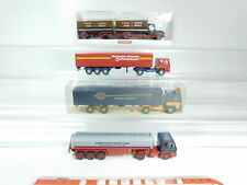 BH78-0,5# 4x Wiking H0/1:87 CAMION: 533 Scania ASG+MB SCHOTT homme etc., W + 2 x