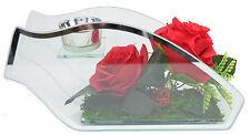 Teelichthalter mit DEKO Rose Ritzenhoff & Breker Geschenk Glas