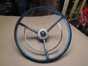 1957 1958 1959 FAIRLANE SKYLINER GALAXIE GULFSTREAM BLUE POWER STEERING WHEEL