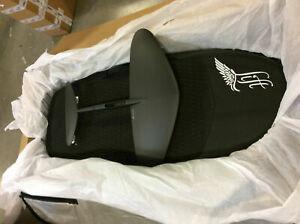 eFoil 5`0` Sport - Carbon Black with eFoil Wing Surf 250