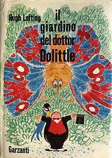HUGH LOFTING IL GIARDINO DEL DOTTOR DOLITTLE GARZANTI 1971