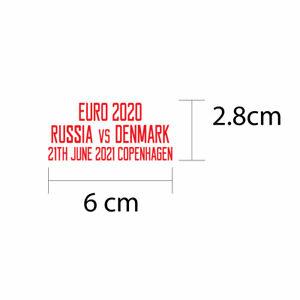Denmark EURO 2020 Reproduction Match Details