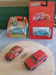 Matchbox Superfast Job Lot x3 Volkswagen lot, Speedlane x1