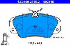 Bremsbelagsatz, Scheibenbremse für Bremsanlage Vorderachse ATE 13.0460-2815.2