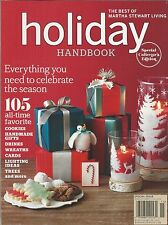 Martha Stewart Holiday Handbook magazine Christmas Cookies Gifts Wreaths Cards