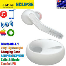 Jabra Eclipse Wireless Bluetooth Single-Ear Headset with Charging Case White