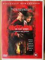 A Nightmare on Elm Street DVD Original 1984 Freddy Krueger Horror Classic