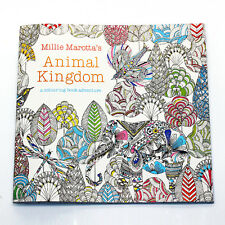 Young Adult Painting Coloring Book Anomal Kingdom Topic Parperback Children Book