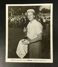 Original Rare 1955 Mildred Babe Didrikson Zaharias Wilson Promo Press Photo Golf