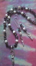 Tibetan Silver Pearl Costume Charms & Charm Bracelets