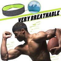 Fashion Sweatband Headband Yoga Gym Running Stretch Sports Head Band Unisex