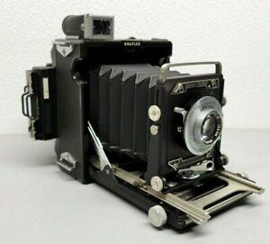 "NR-MINTGRAFLEX 2x3 - ""Baby"" Century Graphic Camera With 103mm F4.5 Graflok Back"