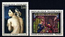 """FRANCIA - Quadri di Francia - 1967 - """"La Bagnante"""" - Vetrata a Troyes"""