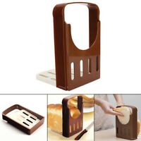Bread Slicer Loaf Toast Cutter Mold Maker Slicing Cutting Guide Kitchen Tools