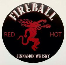 Fireball Whisky 12 Inch Metal Tin