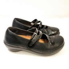 Naot Mary Jane Strap Leather Shoe Color: Black Size: 7-7.5